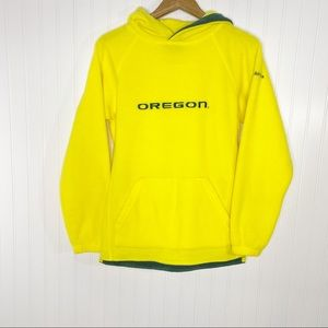 Oregon Ducks Juniors Pullover Fleece Size XL